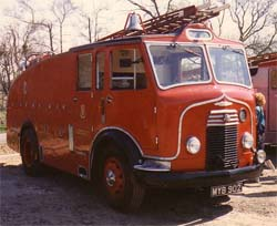 Commer Water Tender - photo courtesy of Micheal Bissett-Powell