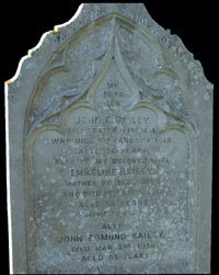 J E Bailey,Family Headstone,All Saints,Banstead