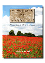 These Men of Banstead - Stories from the War Memorial