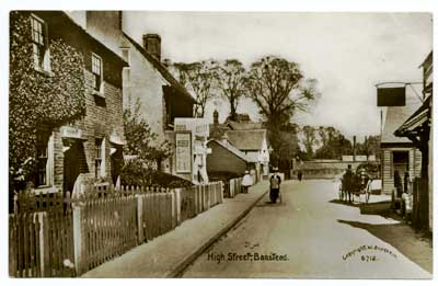 The High Street -Postcard